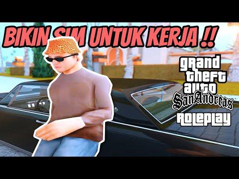 UGRP - BIKIN SIM U0026 BELI MOBIL BEKAS ! || GTA SAN ANDREAS ROLEPLAY