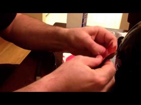 How to convert an action cam vented helmet strap to a curved mount for any ski/snowboard helmet.