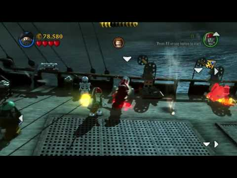 Lego Pirates Of The Caribbean - Queen Anne's Revenge (Free Play #1)