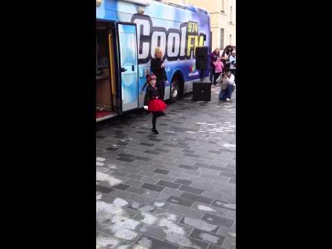 Kate McCafferty 8 dancing to Michael Jackson Internet sensa