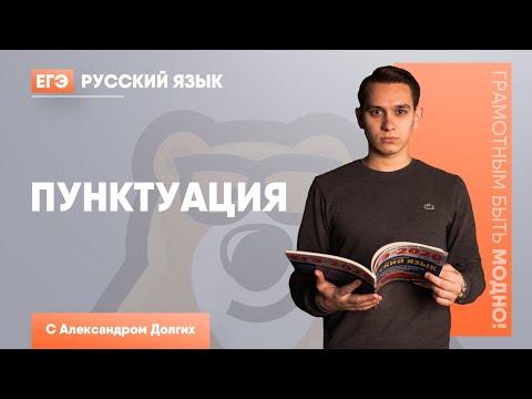 Пунктуация  Русский язык ЕГЭ 2020   УМСКУЛ
