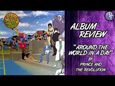 """""""Around the World in a Day"""" by Prince and the Revolution (1985) - Album Review"""