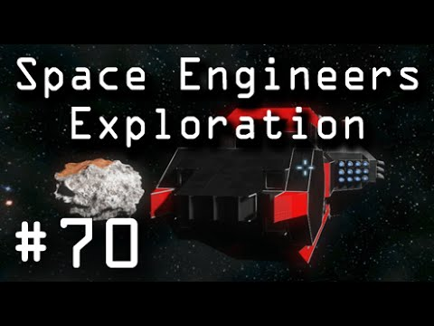 "Space Engineers: 70 ""Automated Ship builder!"""