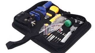 Watch Repair Tool Set Review HD from Aliexpress.com Review