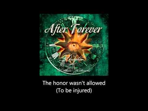 After Forever - My Pledge of Allegiance #1 The Sealed Fate (Lyrics)