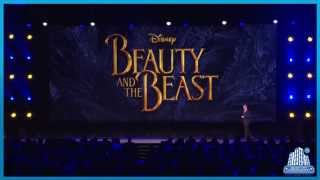 cast of the live action beauty and the beast revealed at d23 expo