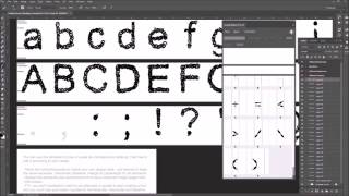 Fontself Photoshop Live Video Making a Font