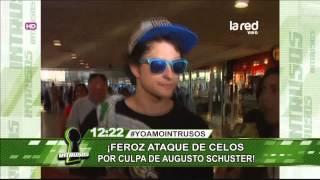 Augusto Schuster provocó un feroz ataque de celos a novio de su ex