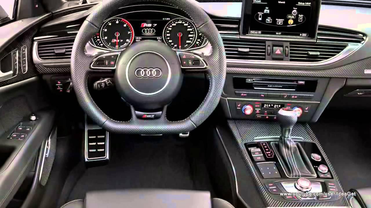2014 Audi Rs7 Sportback Interior And Exterior Design
