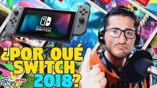 ¿Por qué comprar Nintendo Switch en 2018? - Guía y mejores juegos | Retro SQS