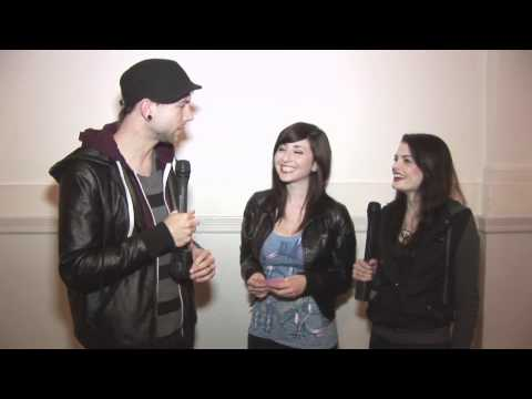 Jackie and Martina Interview Good Charlotte