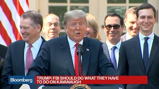 Trump Says He\'s Never Had a Beer, Kavanaugh Didn\'t Lie About Drinking