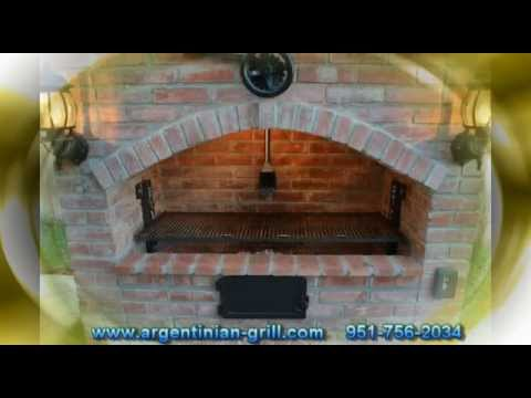 Brick Argentine Grill Youtube
