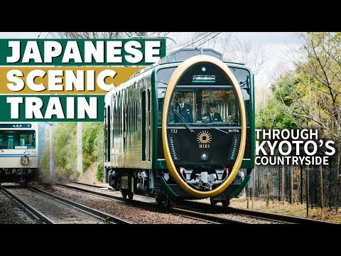 Japanese Scenic Train Ride Experience in Kyoto ★ ONLY in JAPAN
