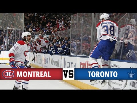 Montreal Canadiens vs Toronto Maple Leafs | Season Game 40 | Highlights (7/1/17)