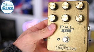 The Ultimate Marshall in a box! PedalPalFX PAL 800 Gold Overdrive Pedal
