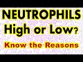 Neutrophils count; High or Low??? Know the Reasons