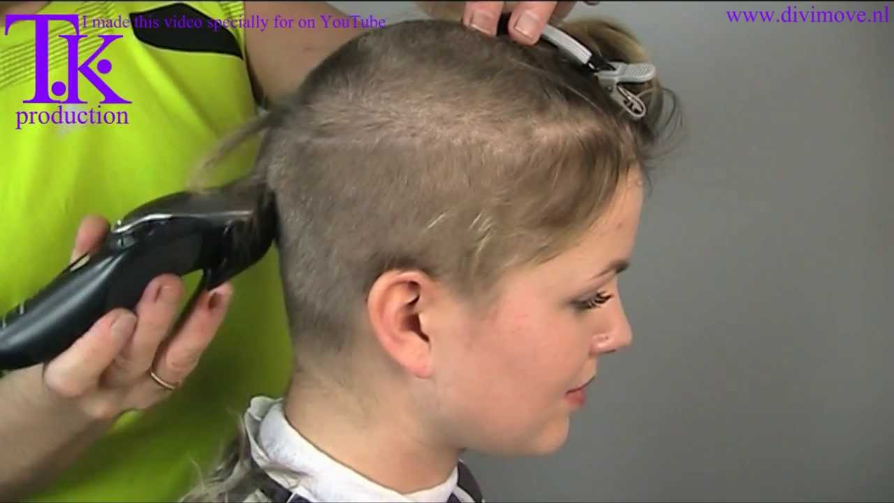 love to go ultra short! clipper haircut of Jacky by Theo Knoop ...