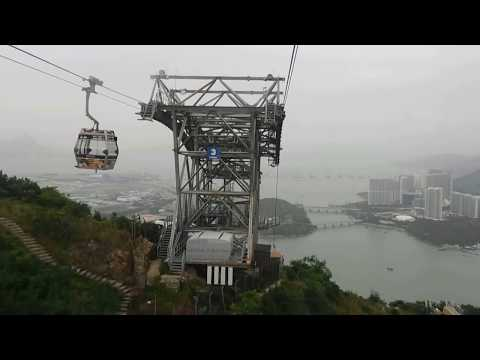 Ngong Ping 360 Cable Car Hong Kong- Whole Journey (First Person View)