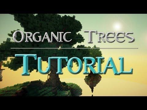 Minecraft Tutorial: Organic/giant trees [german]