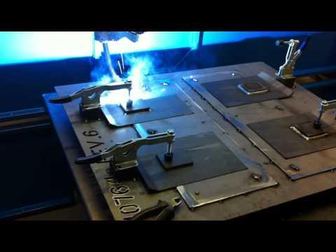 Robot welding pulse MIG