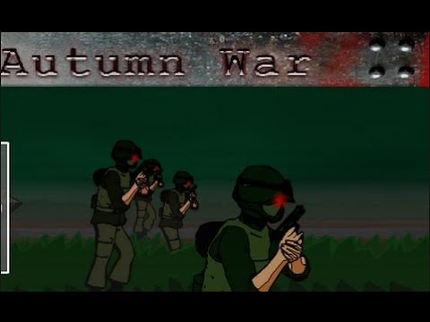 ZOMBIE STRATEGY GAME! Let's play: Autumn War - #1
