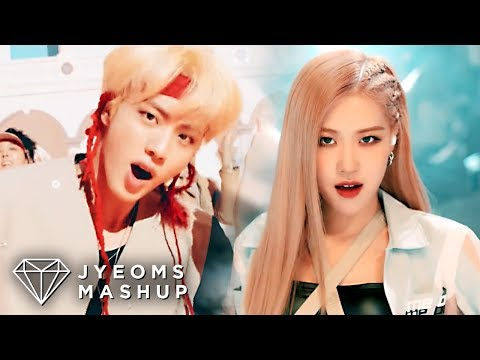 BLACKPINK & BTS - KILL THIS LOVE / IDOL / DDU-DU DDU-DU / DNA (MASHUP)