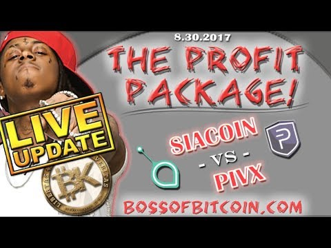 PIVX vs SIACOIN💰 Free Bitcoin Technical Analysis | Cryptocurrency Investing News | BTC USD 2107