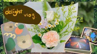 delight vlog) 엥겔지수 넘치는 브이로그 / …