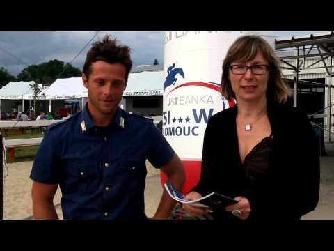 Federico Ciriesi - CSI3* Olomouc rozhovor - interview 13. 6. 2014
