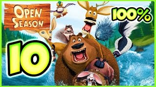 Open Season Walkthrough Part 10 (X360, Wii, PS2, PC, XBOX) 100% Mission 20 - 21