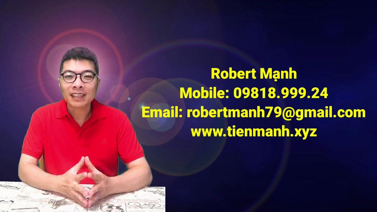 Giới thiệu Robert Mạnh – 6 bài học quan trọng nhất trước khi khởi nghiệp