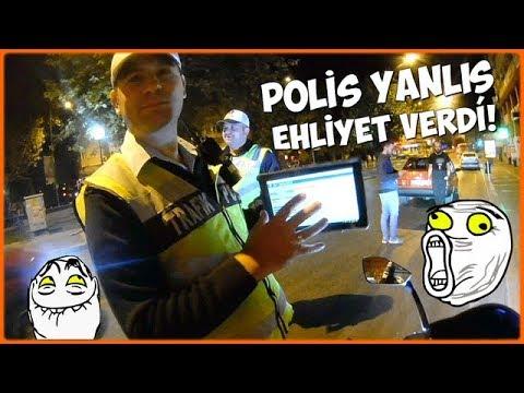 TRAFİK POLİSİ BAŞKASININ EHLİYETİNİ VERDİ SONRA BENİ ARADI GERİ DÖNDÜM | MotoVlog #51