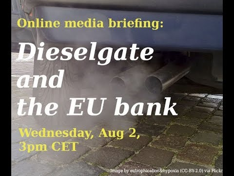 Dieselgate at the EU's bank