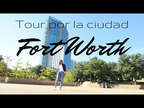 Tour por el centro de Fort Worth TX/MEXICANA EN USA !!