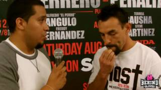 GUERRERO: NOT KNOWING ANYTHING ABOUT PERALTA IS EXCITING! WANTS GARCIA REMATCH