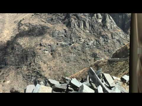Views Of Tiger Leaping Gorge On Bus Back To Lijiang