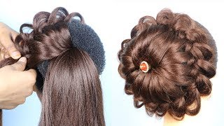 Quick and easy hairstyle for wedding || new hairstyle 2020 || trending hairstyles || hair style girl