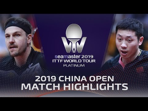 Timo Boll vs Xu Xin | 2019 ITTF China Open Highlights (1/4)