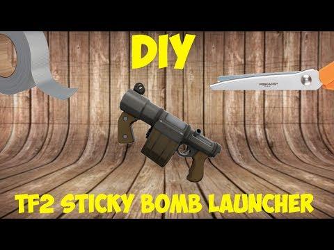 TF2 Sticky Grenade Launcher - DIY