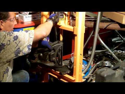 1956 Chevrolet Control Arm Bushing Removal Video