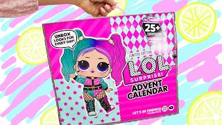 LOL Surprise OOTD Advent Calendar 2020 New Exclusive Doll