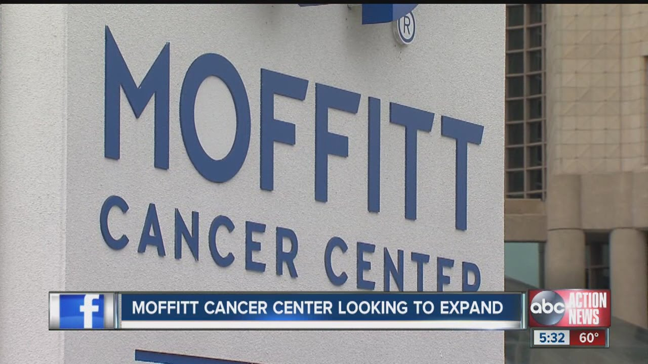 Moffitt cancer center looking to expand youtube for Moffitt builders