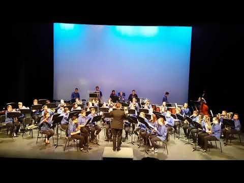 GW Graham Senior Concert Band - Pilatus: Mountain of Dragons