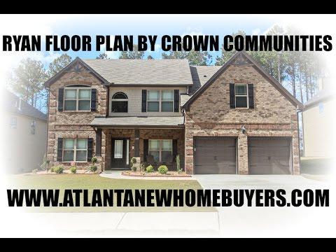 Ryan Floor Plan built by Crown Communities YouTube