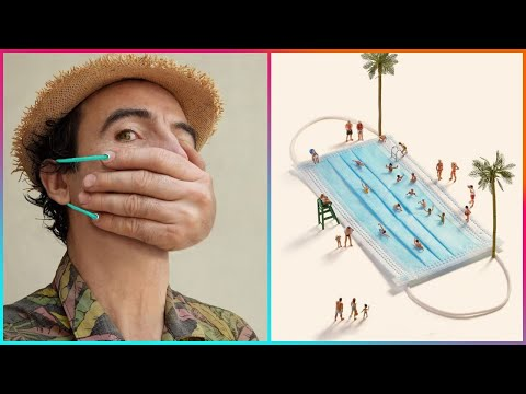 Face Mask Creative Ideas & 25 Other Cool Things ▶2