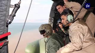 تقرير حول عمليات الإنقاذ والبحث عن مفقودين بسيول الجنوب الأردني  - (10-11-2018)