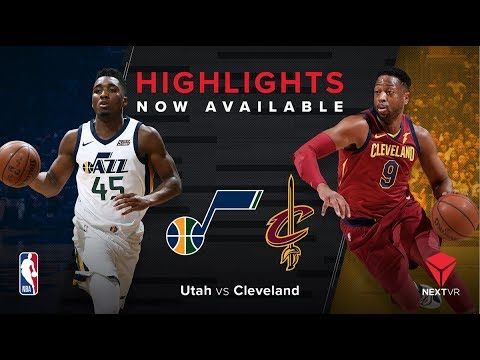 NBA in VR - Jazz vs Cavs Free Preview | NextVR