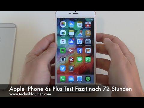Apple iPhone 6s Plus Test Fazit nach 72 Stunden