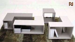 Puzzle Modular Coffee Table VGGU852CT